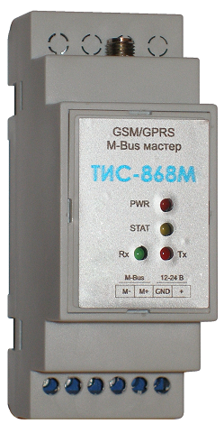 Считывание данных ULTRAHEAT UH50 - GSM/GPRS M-Bus мастер ТИС-868М